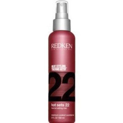 Redken 22 Hot Sets Thermal Setting Mist Maximum Control 5.0 oz