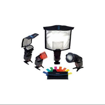 Rogue Portrait Flash Lighting Kit with Softbox, Bounce Diffuser, Reflector, Grid and Gel