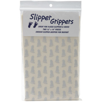 Lyle 100015 Slipper Grippers 12 in. x 14 in. 2PkgGrey