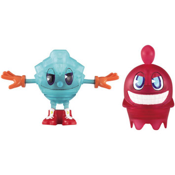 PacMan Pac-Man Pac-Panic Battle Spinners Action Figures, Set of 2, Pac & Blinky