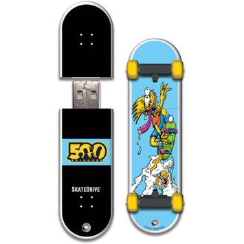 Action Sports Drives Santa Cruz 8GB Bart Slasher SkateDrive USB 2.0 Flash Drive