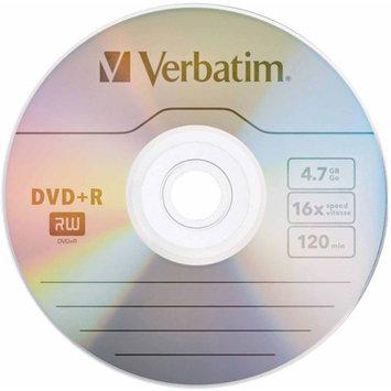 Verbatim DVD+R 4.7GB 16x Branded Slim Case, 20pk