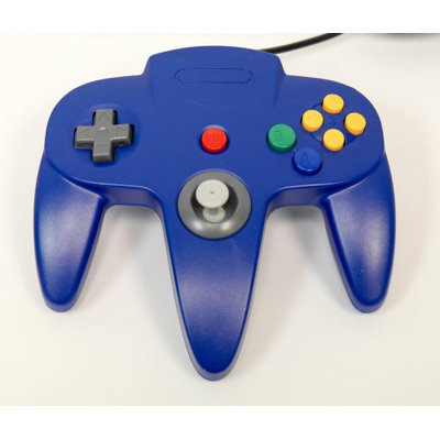 Nintendo N64 USB Controller - Blue - by Mars Devices