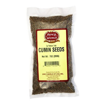 Spicy World Cumin Seeds (Jeera Whole) 7oz