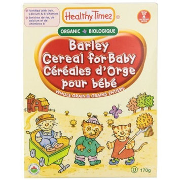 Healthy Times Whole Grain Barley Cereal, 6-Ounce (Pack of 6)