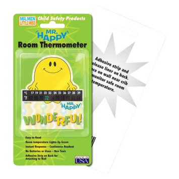 Quest Hallcrest Mr. Happy Room Thermometer - 4 pack