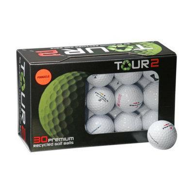 Nitro Golf LLC Pinnacle Mix Recycled 30 Pk Golf Balls-White