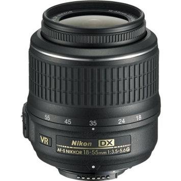 Nikon 18-55mm f/3.5-5.6G VR AF-S DX Zoom-Nikkor Lens - Factory Refurbished includes Full 1 Year Warranty