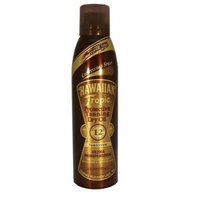 Hawaiian Tropic Protective Tanning Dry Oil Continuous Spray SPF 12 4 fl oz (118 ml)