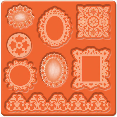 Plaid:craft Mod Podge Mod Mold - Ornaments