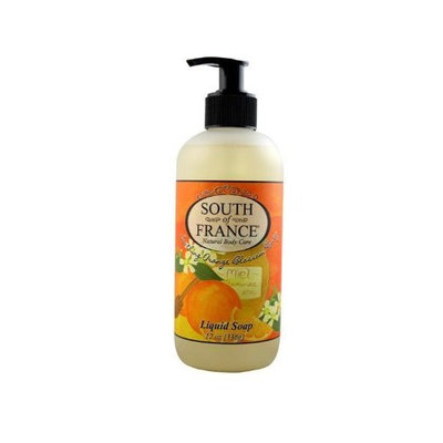 South Of France Liquid Soap - Orange Blossom Honey, 12-Ounce (Pack of 3)
