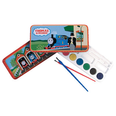Schylling SCHYLLING THOMAS THE TANK TRAIN WATERCOLORS TIN