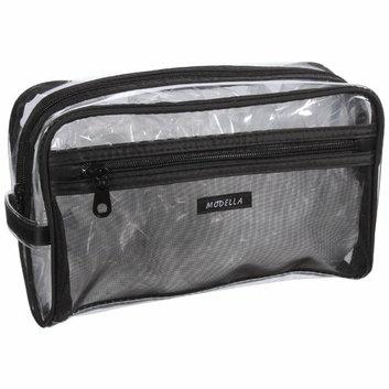 Modella Transparent/Black Make Up Bag