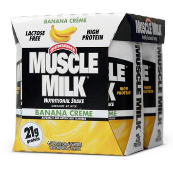 CytoSport Protein Nutrition Shakes 4 Pack Banana Creme