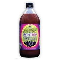 Genesis Today 100% PURE ORGANIC Acai 100 Juice Pulp - 30,000mg per 1oz Serving 32oz Bottle