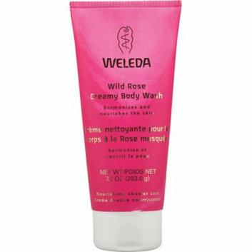 Weleda Creamy Body Wash Wild Rose 7.2 fl oz