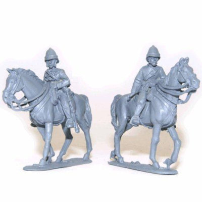 Black Powder 28mm Mounted British Officers - Pulleine & Melvill