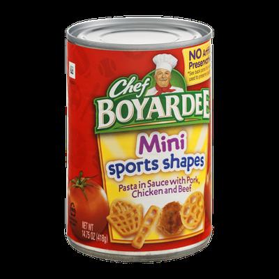 Chef Boyardee Mini Sports Shapes