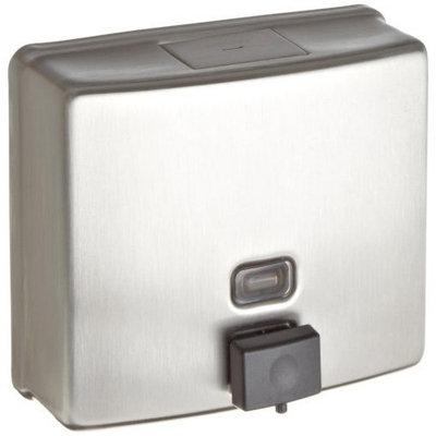 Bobrick B-4112 40-fl oz Capacity, Contura Series Surface-Mounted Soap Dispenser