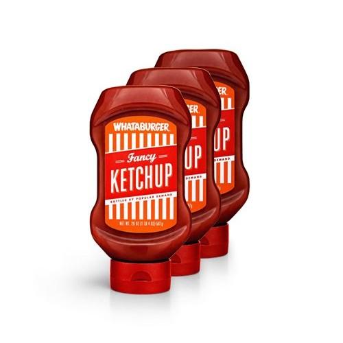 Whataburger Fancy Ketchup - 3 pack - FREE SHIPPING DIRECT FROM WHATABURGER - Whataburger Fancy Ketcup (3pack/20oz)