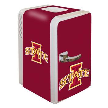 Boelter Brands NCAA Iowa State Cyclones Portable Party Fridge 15 Quart HHK0KXAG6-1614