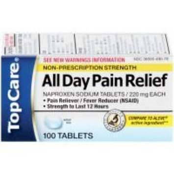 TopCare All Day Pain Relief, 100 Tablets (20% Bonus, 120 Tablets Total)