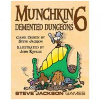 Steve Jackson Games Munchkin 6 Demented Dungeons
