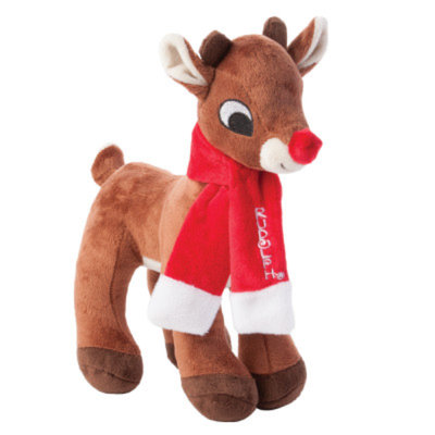Rudolph The Red-Nosed Reindeer Dog Toy
