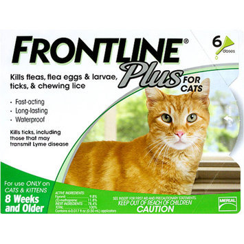 Merial Frontline Plus for Cats - 6 applications