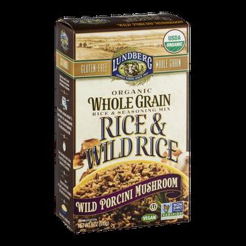 Lundberg Whole Grain Rice & Wild Rice Wild Porcini Mushroom
