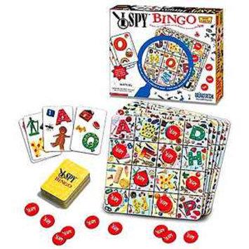 I Spy Bingo Game Ages 4+