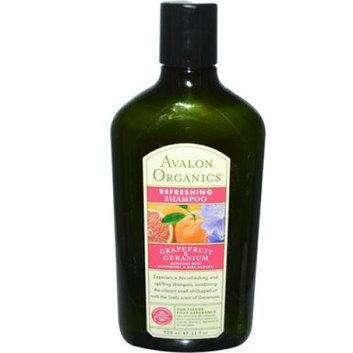 Avalon Organics Refreshing Shampoo Grapefruit and Geranium 11 fl oz