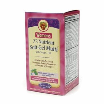 Nature's Secret Women's 73 Nutrient Soft-Gel Multi