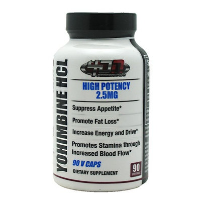 4D Supplements Yohimbine HCL - 90 V Caps
