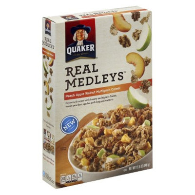 Real Medleys Peach Apple Cereal