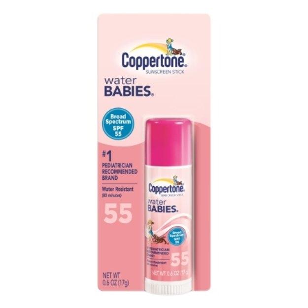Coppertone Water Babies Sunscreen Stick SPF 55