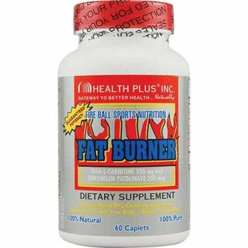 Health Plus Fat Burner with L-Carnitine 60 Caplets