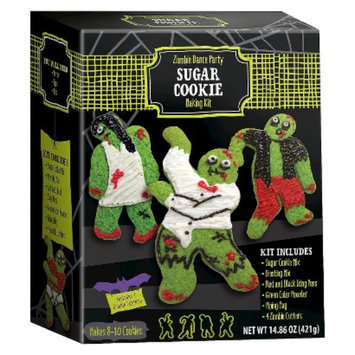 BRAND CASTLE LLC Dancing Zombies Sugar Cookie Kit 14.86 oz