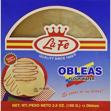 La Fe Obleas Wafers 3.5 Oz