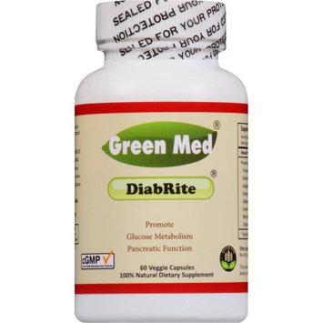 Green Med DiabRite- 60 veggie cap/bot, help glucose metabolism & pancreatic function, maintain/regulate helathy blood sugar level, sugar killer herb from India