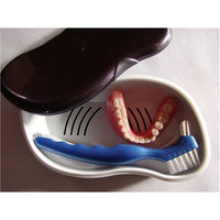 Archtek Denture Storage and Cleaning Kit (Amber Case)