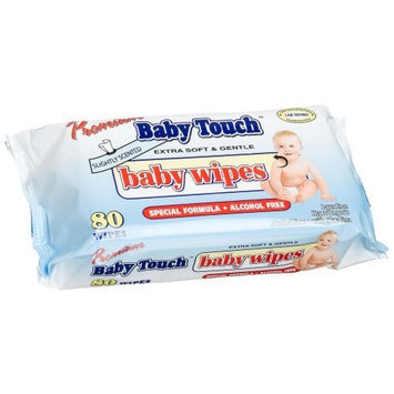 Baby Touch Baby Wipes, Sp, 80-Count Resealable Packages (Pack of 24)