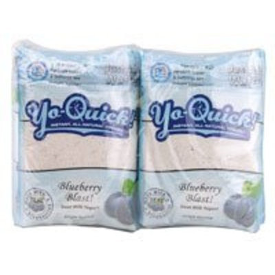 Mt Capra Mt. Capra Products Yo-Quick! Instant Goat Milk Yogurt Blueberry Blast -- 12 Packets