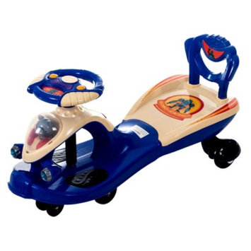 Lil' Rider Wiggle Robo Racer with Sound & Light Ride-on Toy - Blue
