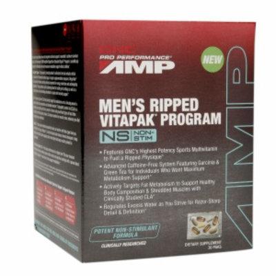 Gnc GNC Pro Performance AMP Men's Ripped Vitapak Program - Non-Stim