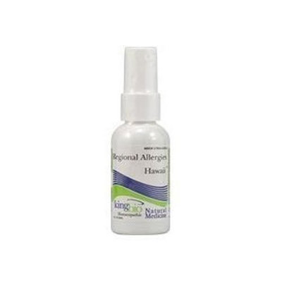 King Bio Homeopathic Dr. King's Natural Medicine Regional Allergies, Hawaii U.S, 2 Fluid Ounce