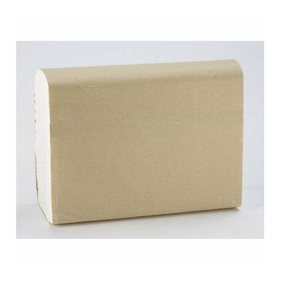 Medline Green Tree Basics Multifold Deluxe Towel Paper in White