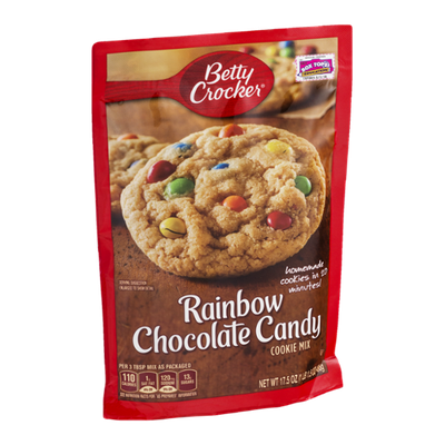 Betty Crocker Cookie Mix Rainbow Chocolate Candy