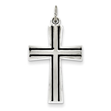 Sears Expired goldia Sterling Silver Enameled Latin Cross Charm