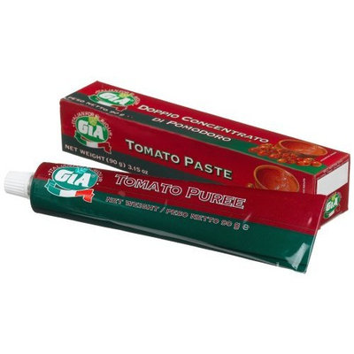 Gia Tomato Paste, 3.15-Ounce Tubes (Pack of 12)